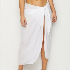 LA PALAPA GEORGETTE PAREO LONG SARONG COVER-UP